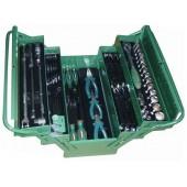 Metalinė dėžė su įrankiais  JONNESWAY 62 vnt  C-3DH262