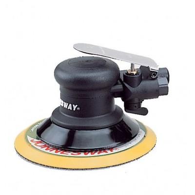 Pneumatinis ekscentrinis  šlifuoklis  be dulkių nutraukimu JONNESWAY  (10000 aps/min)  JAS-6533-6HE
